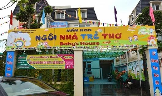 Trường mầm non Baby's house hoạt động không phép: UBND phường Hoàng Liệt có dấu hiệu bao che?