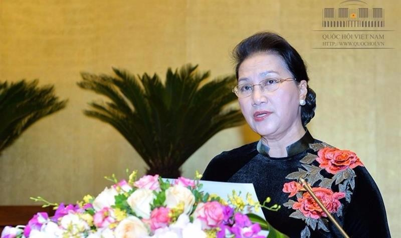 Chủ tịch Quốc hội Nguyễn Thị Kim Ngân