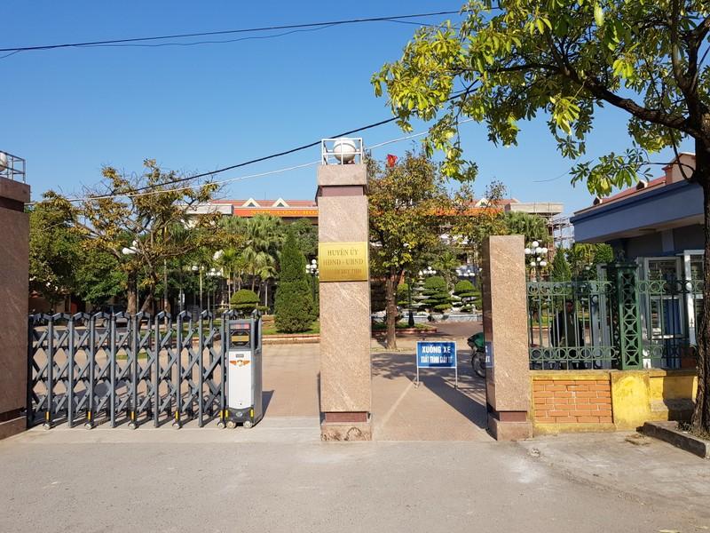 Trụ sở UBND huyện Duy Tiên