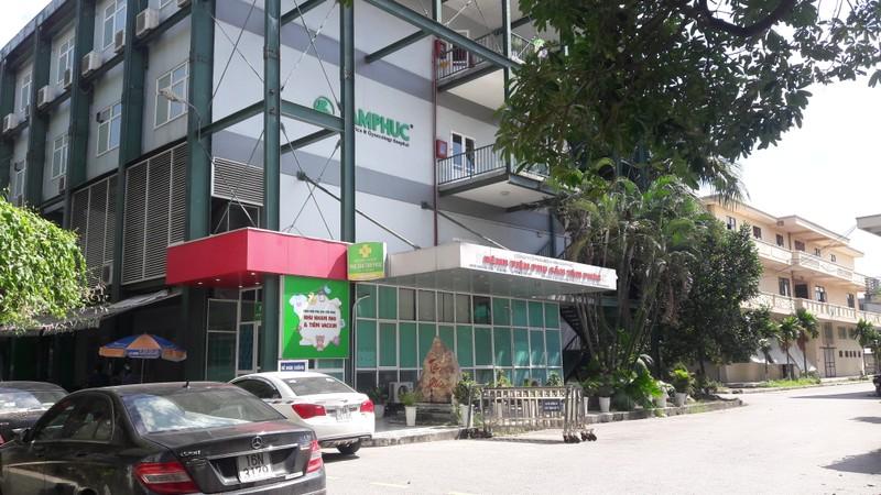 Bệnh viện Phụ sản Tâm Phúc, nơi xảy ra vụ việc