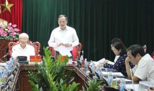 Phó Chủ tịch QH Uông Chu Lưu đánh giá cao nỗ lực cải cách tư pháp của Hải Dương