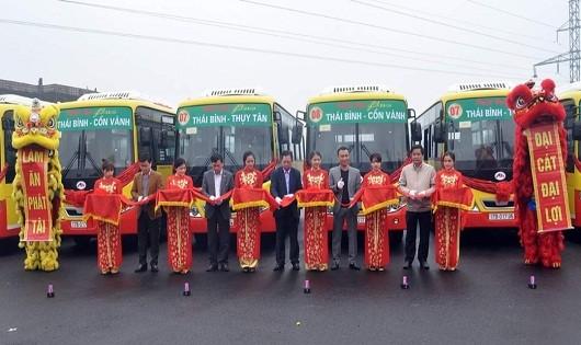 Khai trương tuyến buýt 07 và 08
