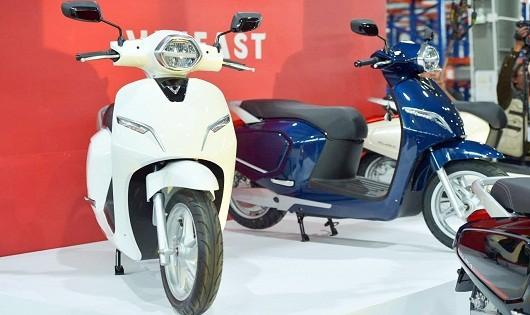 Hình ảnh chiếc xe máy điện thông minh vừa được ra mắt