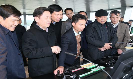 Bộ trưởng Bộ GTVT kiểm tra 3 dự án hạ tầng trọng điểm tại Quảng Ninh