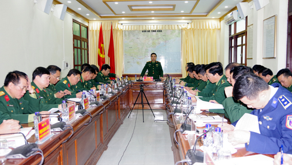 Thượng tướng Lê Chiêm biểu dương Bộ đội Biên phòng tỉnh Quảng Ninh