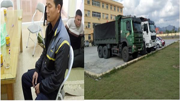 Bảo vệ cầm đầu nhóm công nhân trộm hơn 100 tấn than