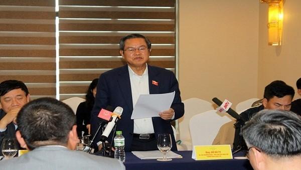 Phó Chủ tịch Quốc hội Đỗ Bá Tỵ biểu dương Tập đoàn Mường Thanh