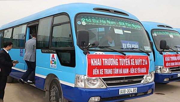Mẫu xe đưa vào sử dụng tuyến buýt 214