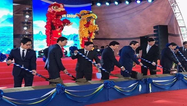 Quảng Ninh: Khởi công cao tốc Vân Đồn - Móng Cái