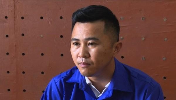 Đối tượng Nguyễn Văn Minh tại cơ quan điều tra