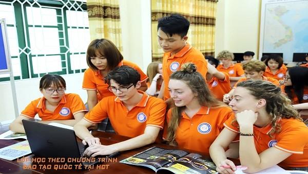 Lớp học theo chương trình đào tạo chuẩn quốc tế