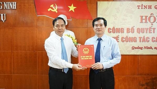 Quảng Ninh bổ nhiệm loạt lãnh đạo Sở mới