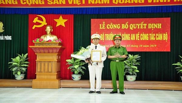 Đại tá Vũ Thanh Chương giữ chức Giám đốc Công an TP Hải Phòng