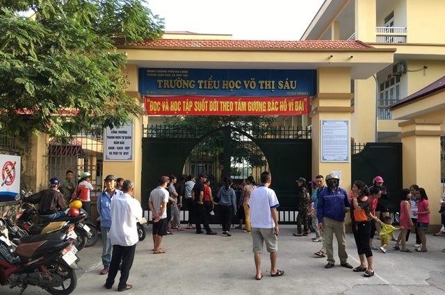 Trường tiểu học Võ Thị Sáu, nơi 5 học sinh nhập viện nghi ngộ độc thực phẩm