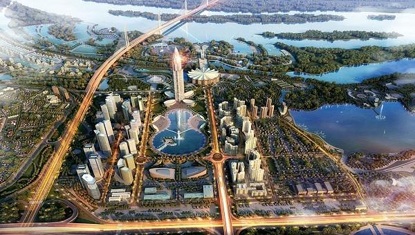 Siêu dự án thành phố thông minh đã chính thức được cấp Giấy chứng nhận đầu tư tại Hội nghị đầu tư và phát triển Hà Nội vào 17/6/2018