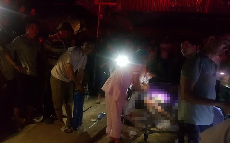 Vụ tai nạn khiến 2 mẹ con chị Lan tử vong.