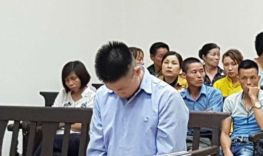 Bị cáo Liên tại tòa phúc thẩm