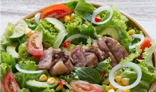 Salad bơ - món ăn giàu dinh dưỡng