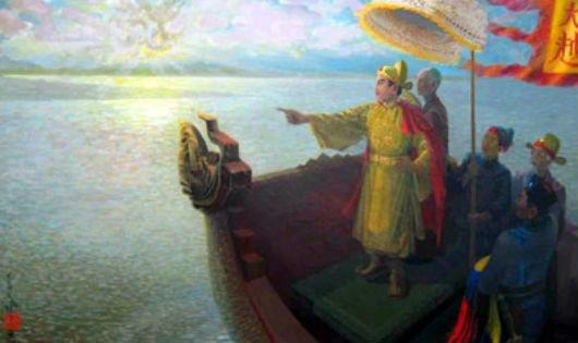 Lý Thái Tổ dời đô (Hình minh họa )
