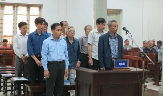 Tuyên án các bị cáo vụ án vỡ đường ống nước Sông Đà