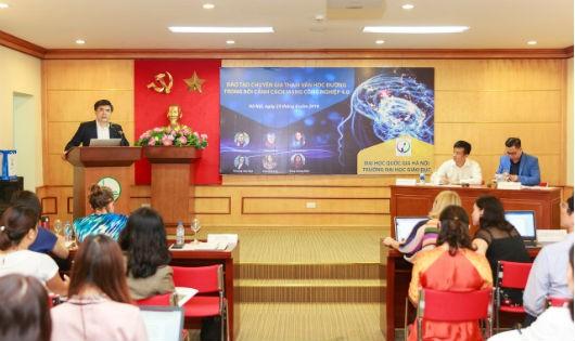 Hội thảo Đào tạo Đào tạo chuyên gia tham vấn học đường tại Đại học Quốc gia Hà Nội