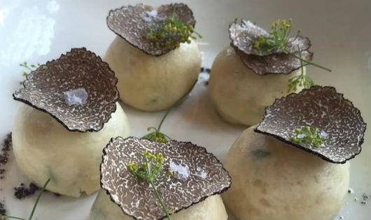 Một món ăn đắt đỏ có nguyên liệu nấm truffle