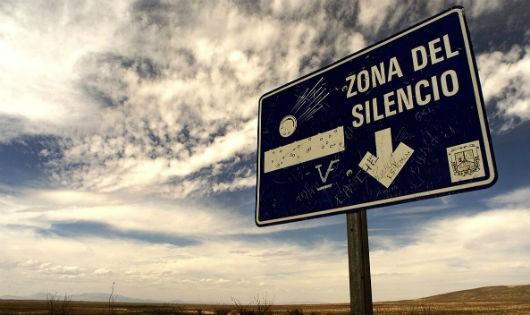 Vùng câm lặng ở Mexico.