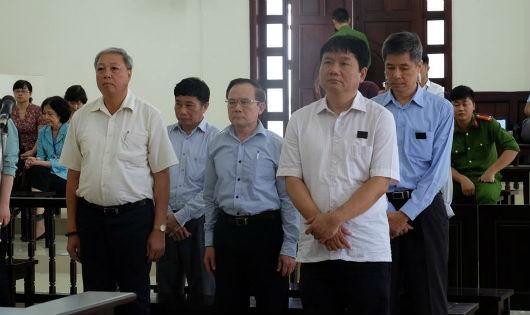 Bị cáo Đinh La Thăng và đồng phạm tại phiên phúc thẩm