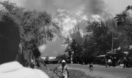 Rất nhiều chiến cụ của quân VNCH đã bị tiêu hủy hoặc phải bỏ lại