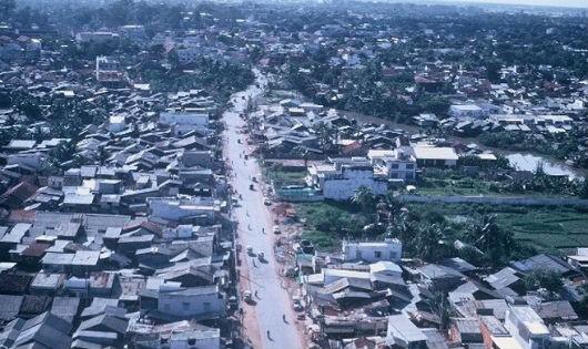Sài Gòn những năm 1960 nhìn từ trên cao