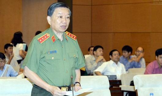 Thượng tướng Tô Lâm- Bộ trưởng Bộ Công an