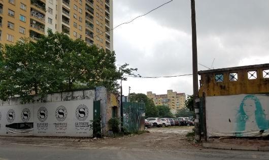 Bãi trông giữ xe tại địa chỉ 15-17 phố Ngọc Khánh