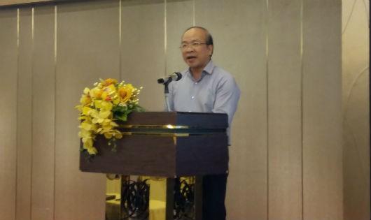 Thứ trưởng Phan Chí Hiếu phát biểu tại hội nghị, ảnh bài Thục Quyên