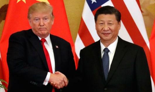 Tổng thống Mỹ Trump và Chủ tịch Trung Quốc Tập Cận Bình