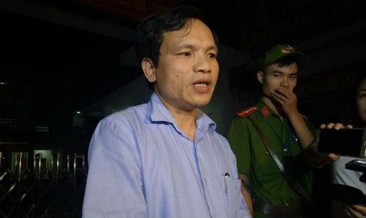 Ông Mai Văn Trinh thông tin về kết quả rà soát, chấm thẩm định tại Sơn La.