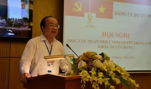 Thứ trưởng Phan Chí Hiếu chủ trì Hội nghị