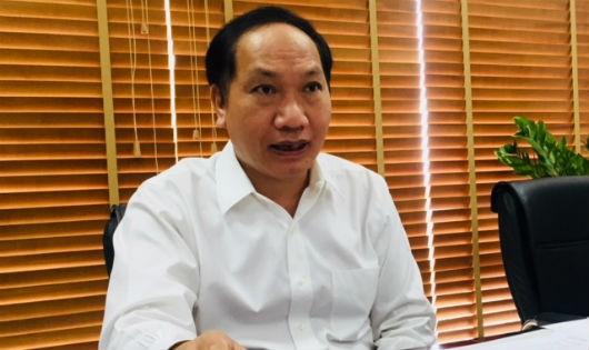 Ông Đàm Thanh Thế, Chánh Văn phòng Ban Chỉ đạo 389 quốc gia. Ảnh:VGP/Huy Thắng.