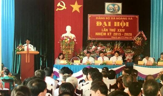 Đảng bộ xã Hoàng Xá đại hội lần thứ XXIV nhiệm kỳ 2015-2020