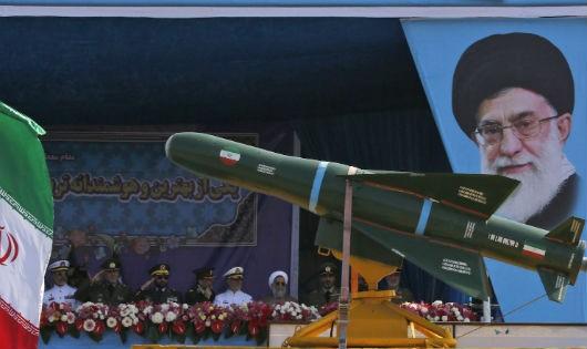Một cuộc diễu hành lực lượng của Iran