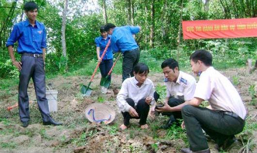 Thi hành án dân sự góp phần xây dựng nông thôn mới.