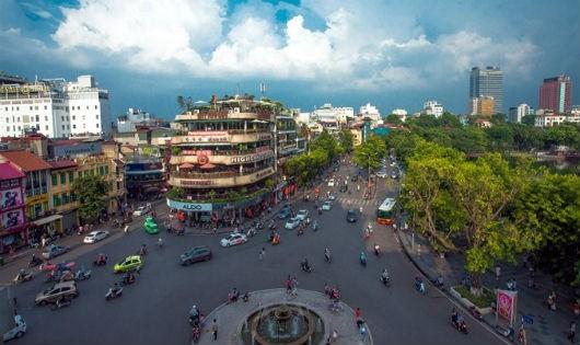 Hà Nội là một trong những hạt nhân, hình thành mạng lưới liên kết các đô thị thông minh.