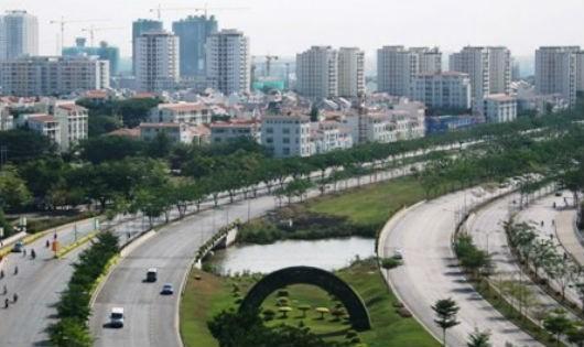 Khu đô thị mới Nam TP HCM.
