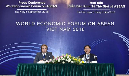 Họp báo giới thiệu Diễn đàn Kinh tế thế giới về ASEAN