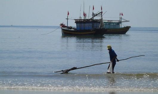 Vùng biển Quảng Bình bị ảnh hưởng trong sự cố môi trường năm 2016