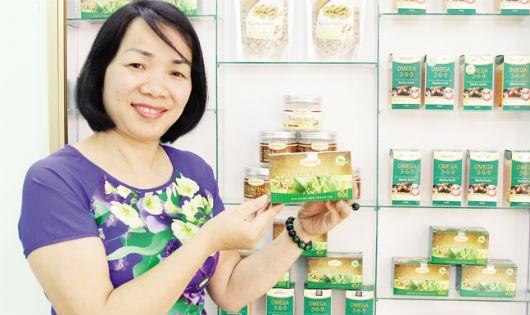 Nữ doanh nhân nặng lòng với cây Sachi