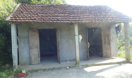Ngôi nhà nơi xảy ra án mạng