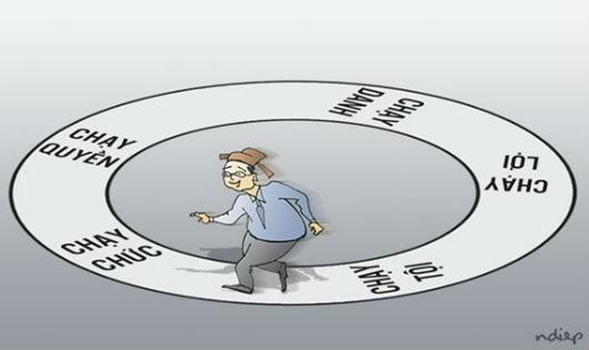 Phải chặn việc thương mại hóa chức quyền (Hình minh họa).