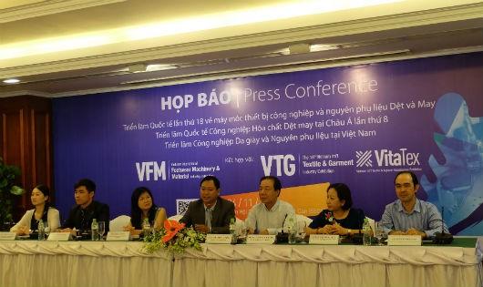Hơn 600 gian hàng tại Triển lãm Vietnam Textile & Garment – VTG 2018