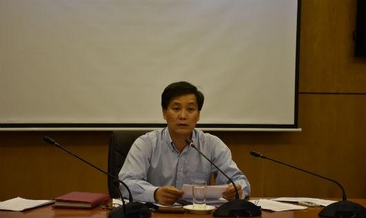 Thứ trưởng Nguyễn Khánh Ngọc chủ trì cuộc họp