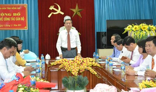Chủ tịch UBND tỉnh phát biểu tại buổi lễ